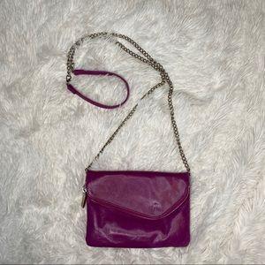 Hobo Daria Chain crossbody clutch zippered bag